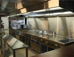 installation cuisine professionnelle